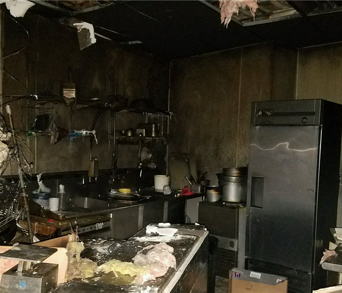 Commercial Fire in Mesa County Restaurant  Before