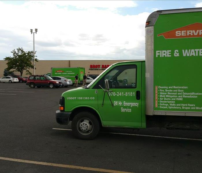 SERVPRO of Grand Junctions at a emergency local call