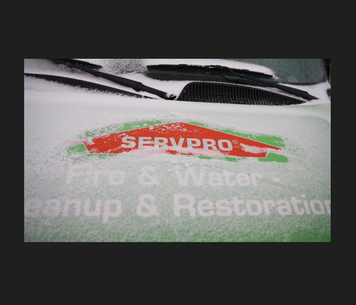 General SERVPRO IS READY FOR WINTER